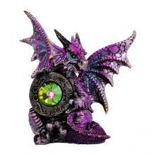 THE DRAGONS  EMERALD FIGURINE